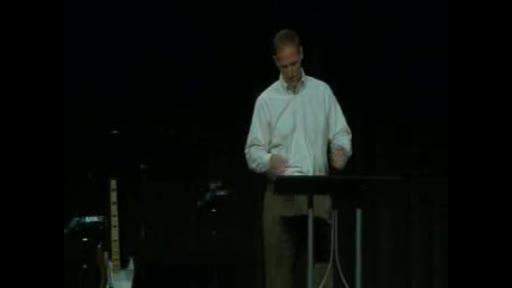 Executive Pastor Scott Lothery - Man Up   Against Evil - Unlocking